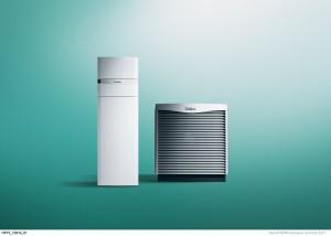 Tepelné čerpadlo flexoCOMPACT exclusive se zásobníkem vzduch voda