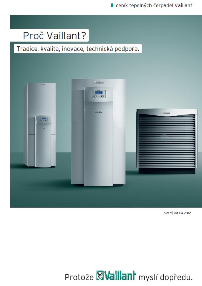 Ceník tepelných čerpadel